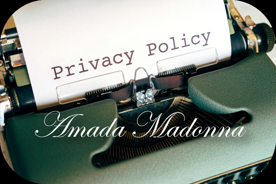 Política de Privacidad de Amada Madonna.